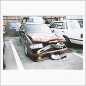 事故で大破❗((유∀유|||))
