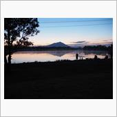 筑波山の日の出