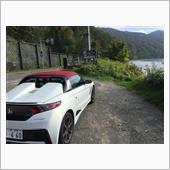 支笏湖にて