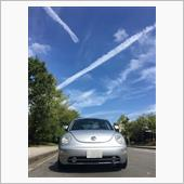 飛行機雲とニュービートル^_^