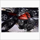 オンからオフへ。トライアンフ・タイガー800のバイクコーティング【リボルト川崎】