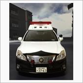 レイズ 1/18  警視庁第一自動車警ら隊200系クラウンパトカー(けいし110)