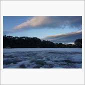 氷の松原湖と1人カラオケ