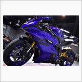 YAMAHAのスーパースポーツモデル YAMAHA・YZF-R6のガラスコーティング【リボルト川崎