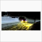 今シーズン最後の雪道走行