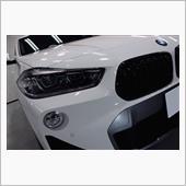 新ジャンル SAC(スポーツ・アクティビティ・クーペ)。BMW・X2 Mスポーツ のガラスコーティン