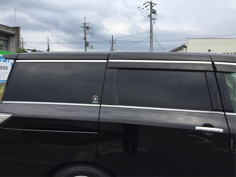 カット済みフィルム 運転席側<br /> (ウルトラブラック3%)<br />