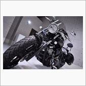 ロー&ロングで迫力満点!・ヤマハ XV1900CUのバイクガラスコーティング【リボルト姫路】
