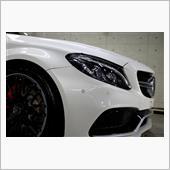 別格なオーラを感じるメルセデス最高峰モデル!AMG・C63Sのガラスコーティング【リボルト沖縄】