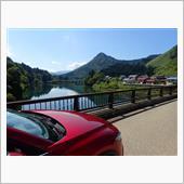 会津方面ドライブ CX5 ディーゼル6MT.の燃費は驚異的だわ。笑っ