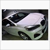 際立つ個性のミニバン。BMW・グランツアラー218dのガラスコーティング【リボルト川崎】
