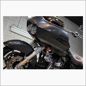 沖縄県でバイクコーティング!ハーレーダビッドソン・ロードグライド【リボルト沖縄】