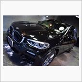 SUV人気の牽引役。BMW・X3のガラスコーティング【リボルト川崎】