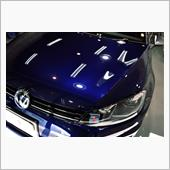 VW最速ヴァリアント!フォルクスワーゲン ゴルフR ヴァリアントのガラスコーティング【リボルト川口】