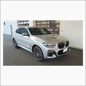 BMW X4 M40i グレイシャーシルバー