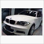 「長く」BMW 1シリーズクーペのガラスコーティング【リボルト神戸】
