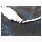 ダイソーUSB LED電球の配線修理