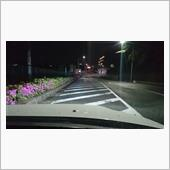 LEDライト点灯風景(H7のみ)