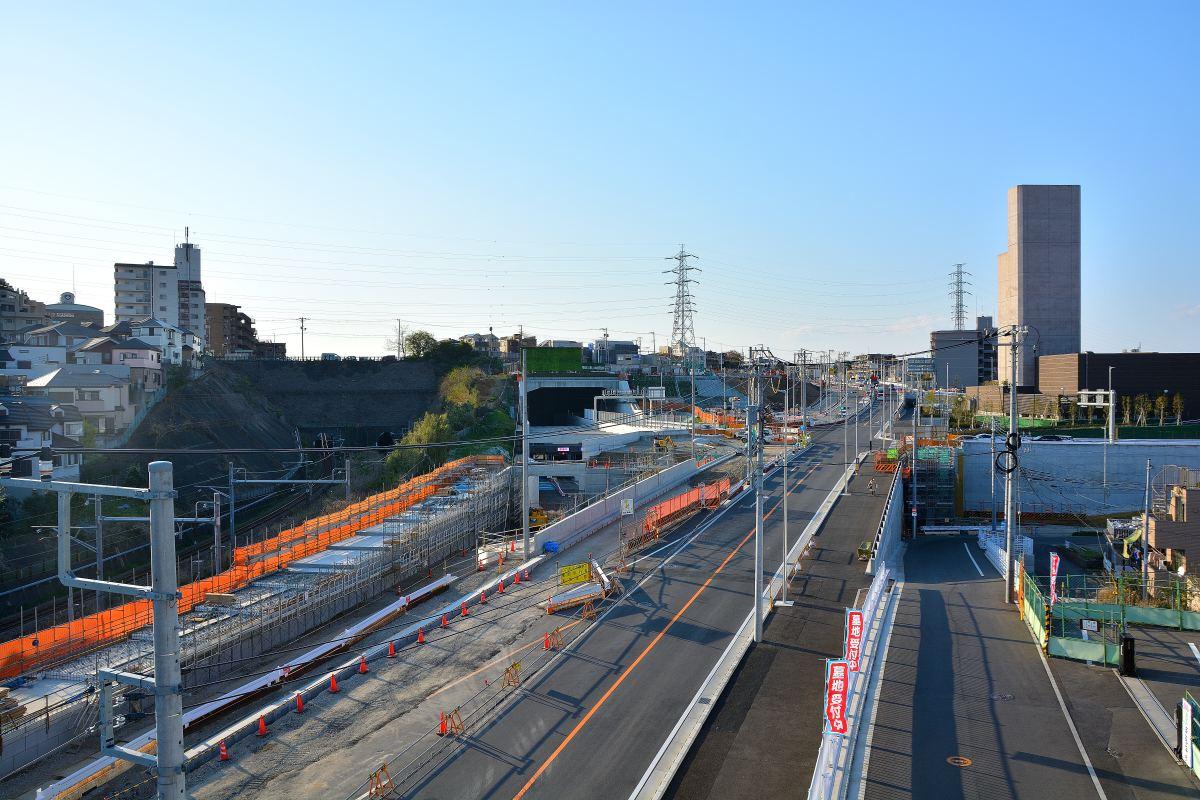 馬場 線 横浜 出入口 北