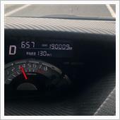 19万キロ到達しました。^ ^