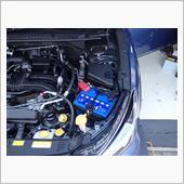 バッテリー&オイル交換・GPSアンテナ移設