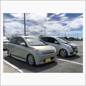 ミラカスタムで初の同車種プチ!( ̄▽ ̄)