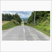 上富良野町ジェットコースターの道