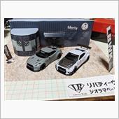 LB ジオラマペーパークラフト& LB☆WORKS Nissan GT-R Type1&2