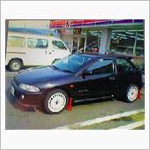 懐かしい写真が出てきた!買った当初の三菱ミラージュサイボーグR☆ 最高に楽しい車だった♪