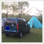 開門岳のオートキャンプ場