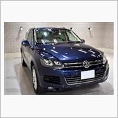 VWのプレミアムSUV!フォルクスワーゲン・トゥアレグ ハイブリッドのガラスコーティング【リボルト姫