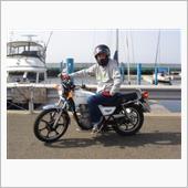 妻のバイクを借りて近所にクルーズ^_^