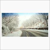 雪道走ってみた。