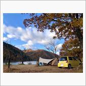 九頭竜湖キャンプ