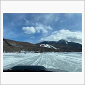 2021.2.8女神湖氷上走行、その5。
