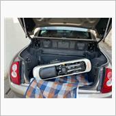 モトコンポをマイクラCCのトランクに車載できるか?