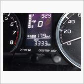 3月に3,333kmキリ番ゲット\(//∇//)\