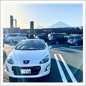 足柄SA (東名高速) での 新旧 2台 (2021/2/27)