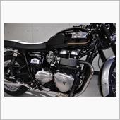 日本に40台しかないトライアンフ・ボンネビルT100SE ガラスコーティング【リボルト松戸】