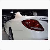 「優しいお言葉」メルセデスベンツ Eクラスセダン(E350e)のガラスコーティング【リボルト神戸】