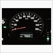 70000km達成