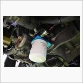 水冷オイルクーラー&油圧センサー&オイルブロック
