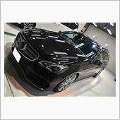 メルセデスベンツ・E250ワゴンのガラスコーティング【リボルト松山】