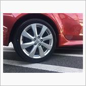 タイヤ変えました。