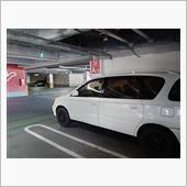GWのショッピングモール駐車場にて