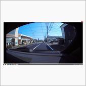 リア用ドライブレコーダー画像チェック