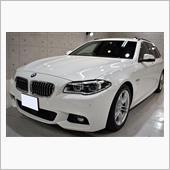 荷物を載せるならワゴンタイプ!BMW・523dツーリングのガラスコーティング【リボルト姫路】