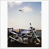 過去画像:  空港までソロツーリング