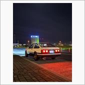 夜の北九州空港にて