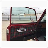 タータンの内張とその昔バスについてたドリンクホルダーw